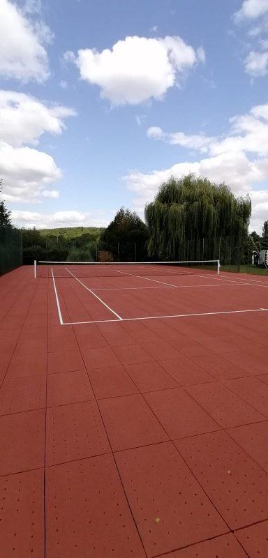 Rénovation d'un terrain de tennis en CLERDAL