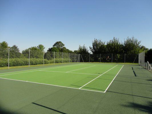 rénovation tennis enrobé drainant