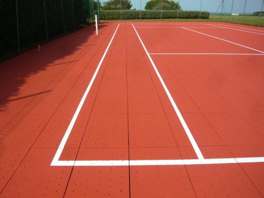 Terrain de tennis Clerdal