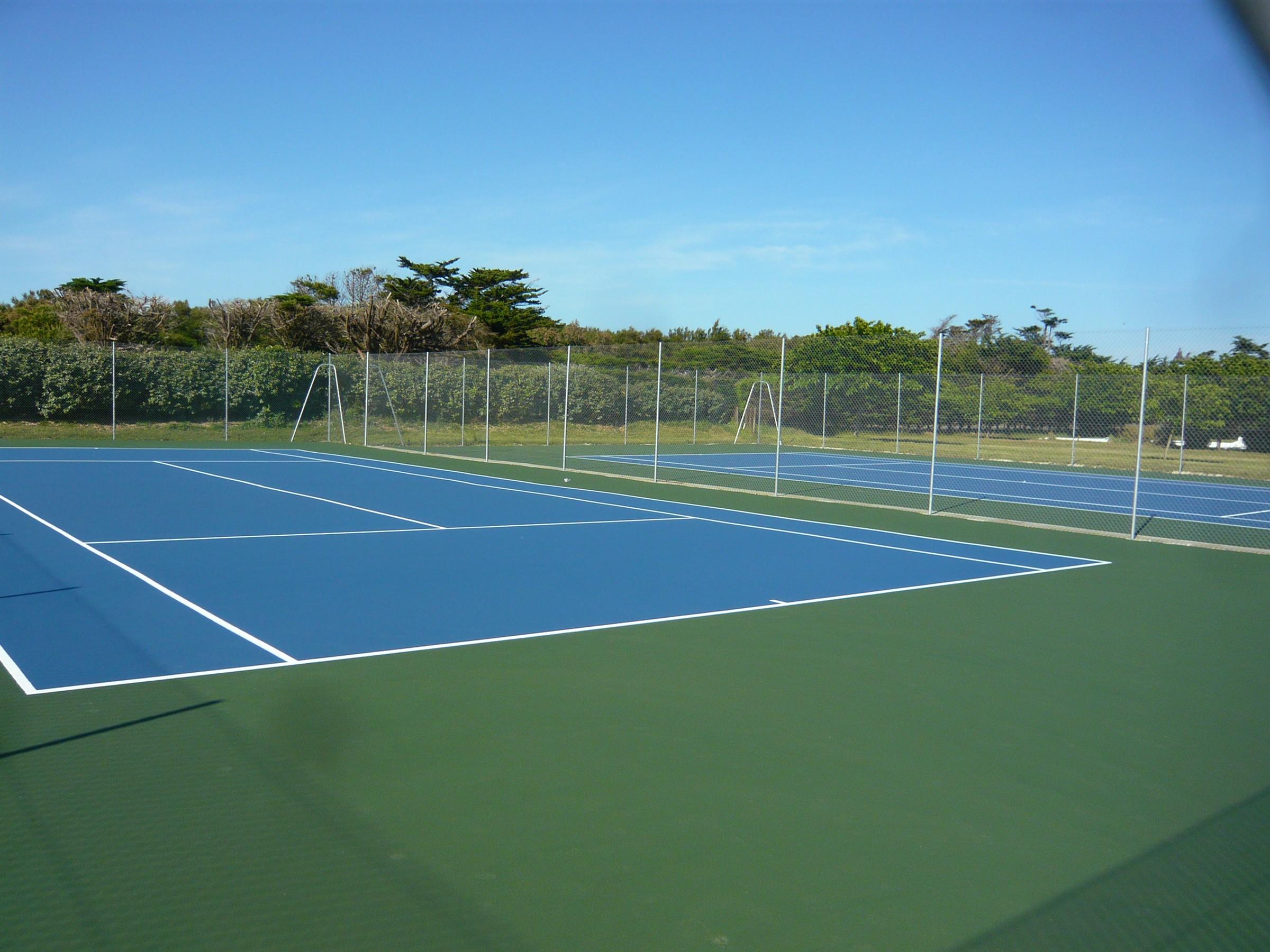 rénovation tennis résine acrylique